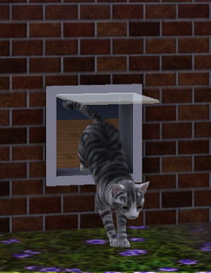 Sims  Pets Cat And Dog Doors