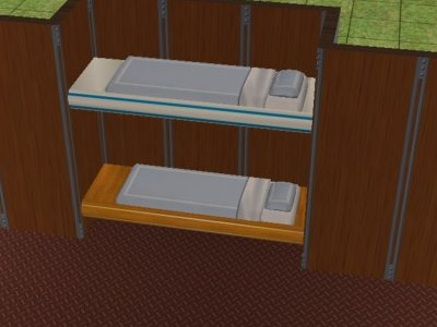 3on the left you can see the modern bunk which is intended for trailers and campers